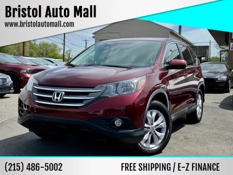 2012 Honda CR-V for sale at Bristol Auto Mall in Levittown PA