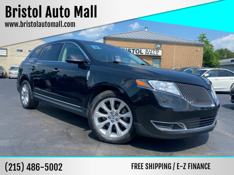 2013 Lincoln MKT for sale at Bristol Auto Mall in Levittown PA