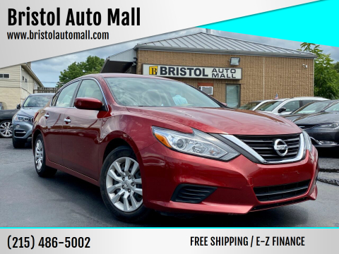 2016 Nissan Altima for sale at Bristol Auto Mall in Levittown PA