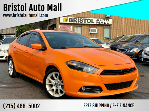 2013 Dodge Dart for sale at Bristol Auto Mall in Levittown PA