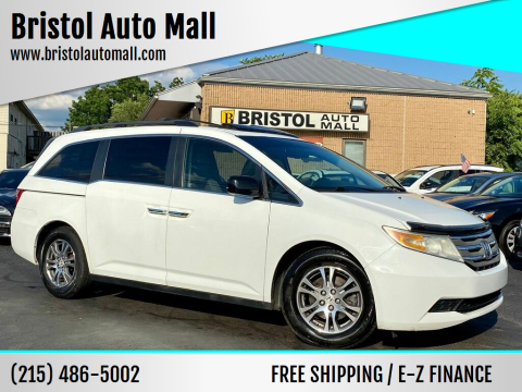 2011 Honda Odyssey for sale at Bristol Auto Mall in Levittown PA