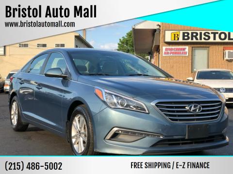 2015 Hyundai Sonata for sale at Bristol Auto Mall in Levittown PA