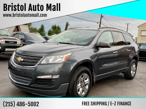 2013 Chevrolet Traverse for sale at Bristol Auto Mall in Levittown PA