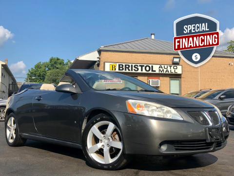 2007 Pontiac G6 for sale at Bristol Auto Mall in Levittown PA