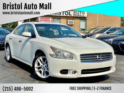 2009 Nissan Maxima for sale at Bristol Auto Mall in Levittown PA