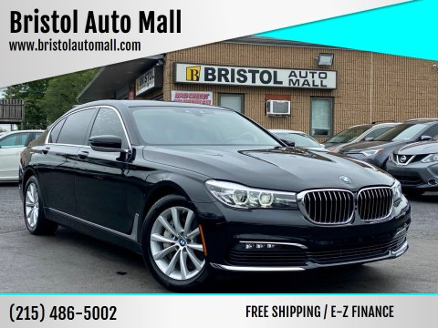 2017 BMW 7 Series for sale at Bristol Auto Mall in Levittown PA