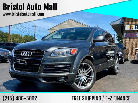 2008 Audi Q7 for sale at Bristol Auto Mall in Levittown PA