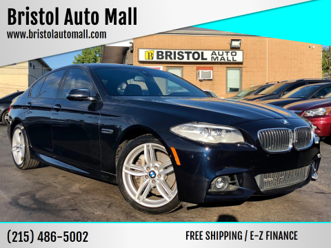 2016 BMW 5 Series for sale at Bristol Auto Mall in Levittown PA