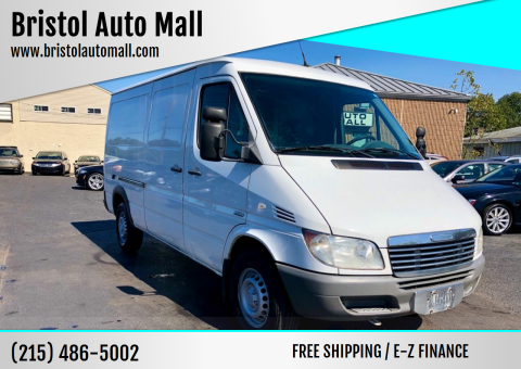 2006 Freightliner Sprinter Cargo for sale at Bristol Auto Mall in Levittown PA