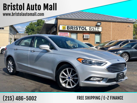 2017 Ford Fusion for sale at Bristol Auto Mall in Levittown PA
