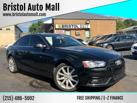 2013 Audi A4 for sale at Bristol Auto Mall in Levittown PA