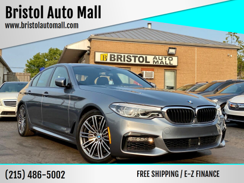 2017 BMW 5 Series for sale at Bristol Auto Mall in Levittown PA