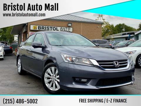 2015 Honda Accord for sale at Bristol Auto Mall in Levittown PA