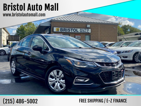 2016 Chevrolet Cruze for sale at Bristol Auto Mall in Levittown PA