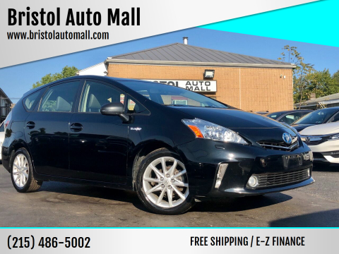 2012 Toyota Prius v for sale at Bristol Auto Mall in Levittown PA