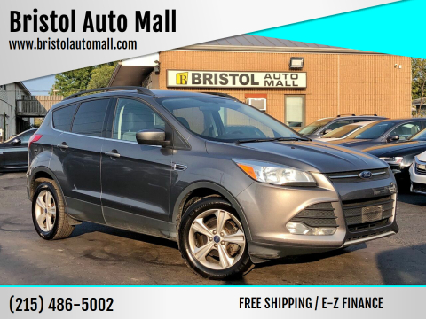 2014 Ford Escape for sale at Bristol Auto Mall in Levittown PA