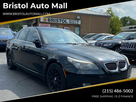 2008 BMW 5 Series for sale at Bristol Auto Mall in Levittown PA