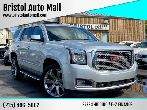 2015 GMC Yukon for sale at Bristol Auto Mall in Levittown PA