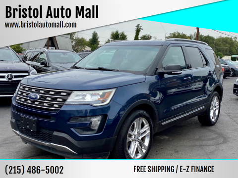 2016 Ford Explorer for sale at Bristol Auto Mall in Levittown PA