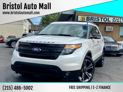 2014 Ford Explorer for sale at Bristol Auto Mall in Levittown PA