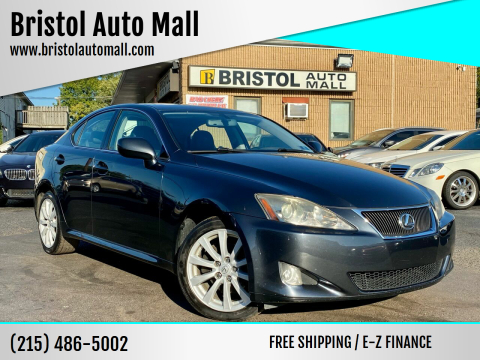 2007 Lexus IS 250 for sale at Bristol Auto Mall in Levittown PA