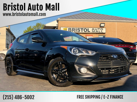 2015 Hyundai Veloster for sale at Bristol Auto Mall in Levittown PA