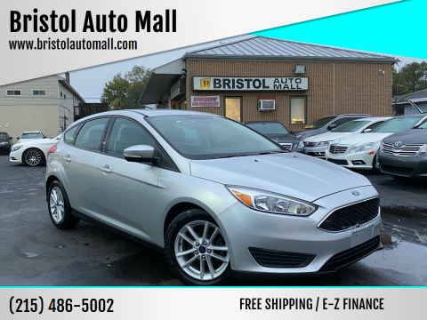 2016 Ford Focus for sale at Bristol Auto Mall in Levittown PA
