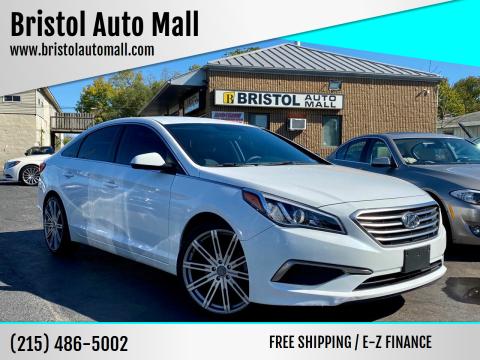 2017 Hyundai Sonata for sale at Bristol Auto Mall in Levittown PA