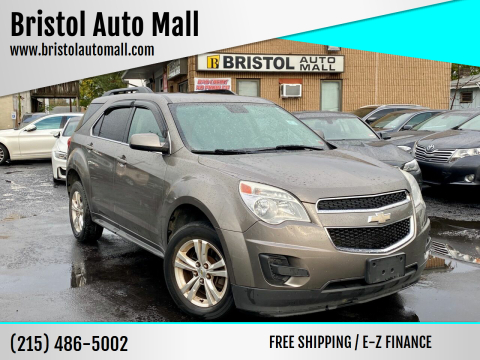 2012 Chevrolet Equinox for sale at Bristol Auto Mall in Levittown PA