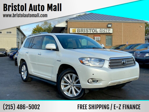 2009 Toyota Highlander Hybrid for sale at Bristol Auto Mall in Levittown PA