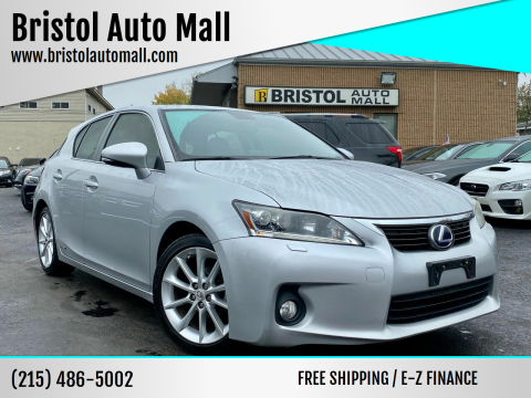 2012 Lexus CT 200h for sale at Bristol Auto Mall in Levittown PA