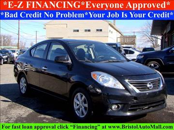2012 Nissan Versa for sale in Levittown, PA