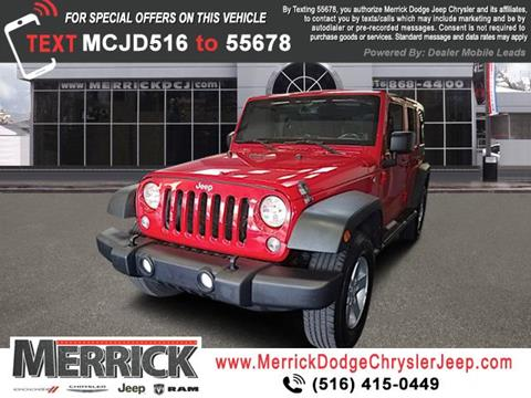 2014 Jeep Wrangler Unlimited for sale in Wantagh, NY