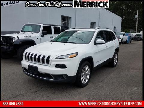 2016 Jeep Cherokee for sale in Wantagh, NY