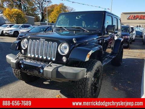 2017 Jeep Wrangler Unlimited for sale in Wantagh, NY