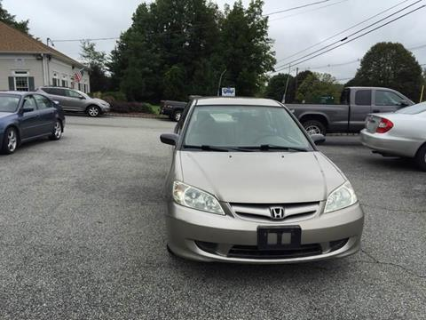 2005 Honda Civic for sale in Wantage, NJ
