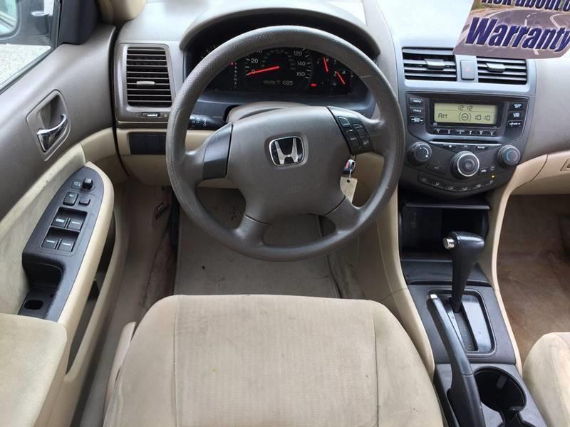 2003 Honda Accord LX 4dr Sedan - Wantage NJ