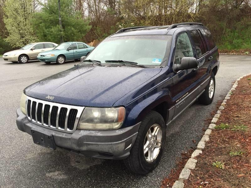 2002 Jeep Grand Cherokee 4dr Laredo 4WD SUV - Wantage NJ