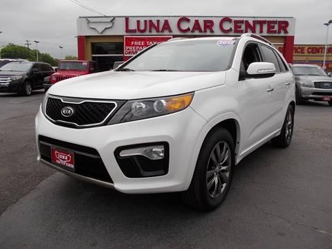 2012 Kia Sorento for sale at LUNA CAR CENTER in San Antonio TX