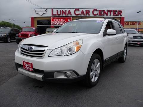 2011 Subaru Outback for sale at LUNA CAR CENTER in San Antonio TX