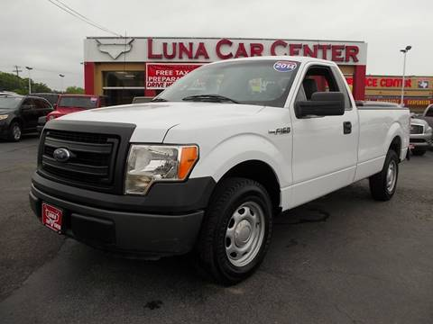 2014 Ford F-150 for sale at LUNA CAR CENTER - Commercial Vehicles in San Antonio TX