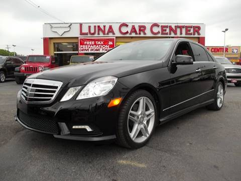 2011 Mercedes-Benz E-Class for sale at LUNA CAR CENTER in San Antonio TX