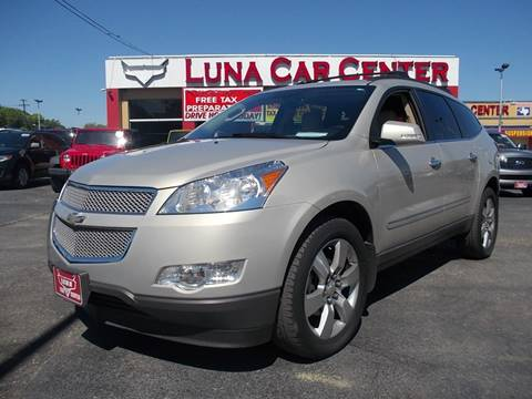 2012 Chevrolet Traverse for sale at LUNA CAR CENTER in San Antonio TX