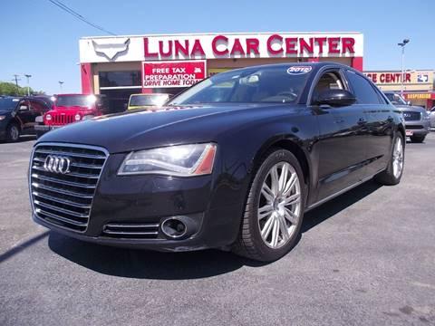 2012 Audi A8 L for sale in San Antonio, TX