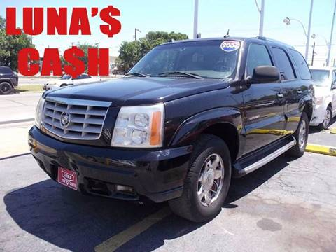 2004 Cadillac Escalade for sale at LUNA CAR CENTER in San Antonio TX