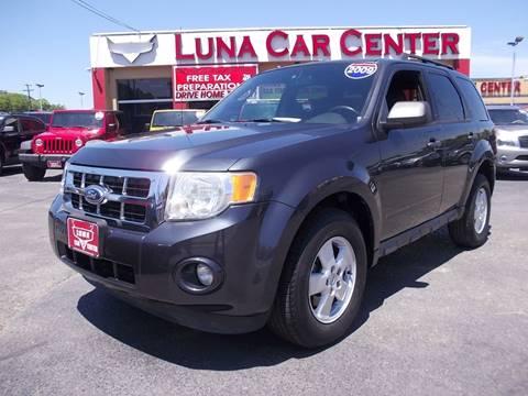 2009 Ford Escape for sale at LUNA CAR CENTER in San Antonio TX