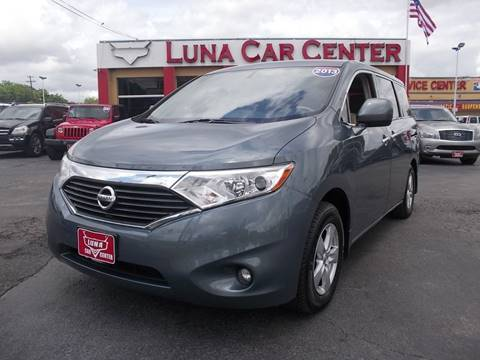 2013 Nissan Quest for sale at LUNA CAR CENTER in San Antonio TX