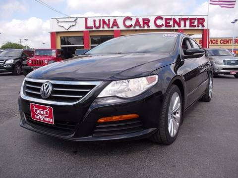 2012 Volkswagen CC for sale at LUNA CAR CENTER in San Antonio TX
