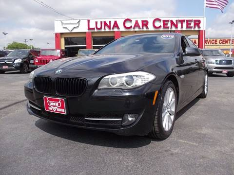 2012 BMW 5 Series for sale at LUNA CAR CENTER in San Antonio TX