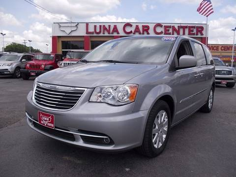 2015 Chrysler Town and Country for sale at LUNA CAR CENTER in San Antonio TX
